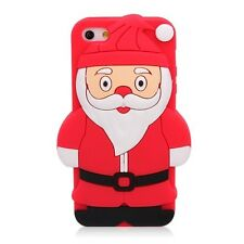For Apple IPhone 5 5S 3D Christmas Santa Soft Silicone Case Cover