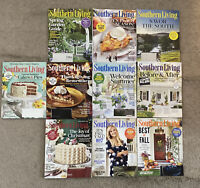 Southern Living Lot of 10 Magazines 2017 March,  May - August , February 2018.