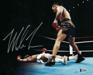 Mike Tyson Autographed/Signed Boxing 8x10 Photo BAS 29551