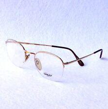 Vintage L'AMY VINCENT eyeglasses frames gold metal made in France