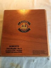 Diamond Crown Robusto Figurado No.6 Empty Wood Cigar Box