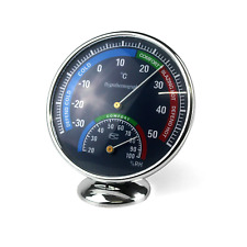 Ytian Temperature Humidity Meter Indoor Outdoor Hygrometer Thermometer Analog