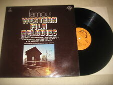 Famous Western Film Myrtille-Prague RADIO DANCE ORCHESTRA Vinyl Lp 1978