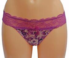 Gossard Vintage Rose Hot Berrythong XSmall Size 8-10 7786