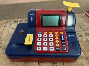 Learning Resources Toy Cash Register with Toy Money