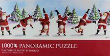 Santa Puzzle BARNES & NOBLE PUZZLE NIB 1000 Pcs 3 FOOT  Christmas UNOPENED