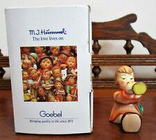 """M.I. Hummel Goebel """"Angel with Trumpet"""" Nib Vintage Excellent Condition Vtg"""