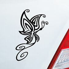 Aufkleber SCHMETTERLING Auto Sticker Tattoo Tier süß Butterfly Tribal 315
