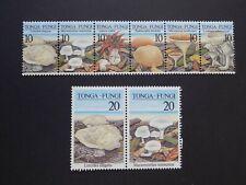 (8) MNH Tonga Mushroomf stamps off paper -