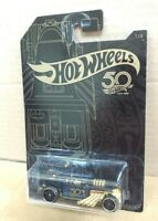 HOT WHEELS DIECAST - 50th Anniversary Black and Gold Series 1/6 - Bone Shaker