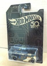 HOT WHEELS DIECAST - 50th Anniversary Black and Gold Series 1/6 - Bone Shaker