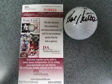Hal Sutton Autographed Signed Golf Ball JSA Authentication