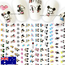 DISNEY baby mickey & minnie mouse 3D nail art sticker decal accessories manicure