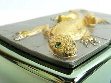 Zippo Golden Lizard Green Eyes Limited Edition lighter emblema xxxx/1000 nuevo