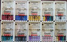 Dentsply Maillefer Hedstroem Endodontic Dental Files 10 Packs All Size