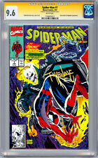 SPIDER-MAN #7 CGC-SS 9.6 *FIRST PRINT SIGNED BY ORIG ARTIST TODD MCFARLANE* 1991