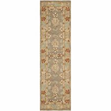 Brown And Camel Anatolian Wool Carpet Runner 2' 3 x 8'