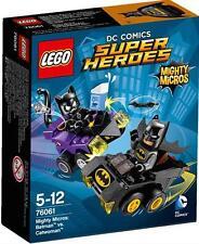 Lego DC Comics Super Heroes Batman vs Catwoman Mighty Micros Set NIB 79 Pcs
