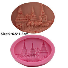 Castle Street Silicone Cake Mold Fondant Sugar Craft Chocolate Decorating Tool