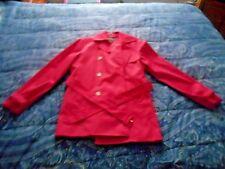 Lauren: Ralph Lauren Pink Water Resistant Dbl breasted Trench coat Size S