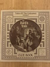 More details for the bard's tale clue book tales of the unknown volume 1