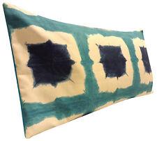 Scion Shoji Blue Bolster Cushion Cover
