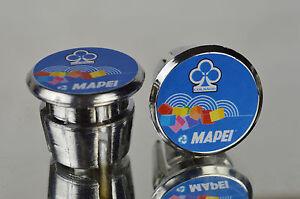 New Colnago Team Mapei Handlebar End Plugs Bar Caps endstopfen lenkerstopfen