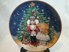 Fitz and Floyd 1992 NutCracker Christmas Plate 2797 of 3600 Collector's Series