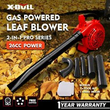 X-BULL Leaf Blower  2-Cycle Gas Powered Vacuum Handheld Commercial 2-in-1 26CC