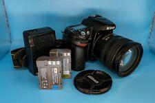 FULL SPECTRUM Nikon D80 10.2MP DSLR Camera AF-S DX IF ED G 18-70mm