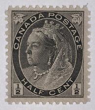 Travelstamps: Canada Stamps Scott #74 Half Cent Denomination Mint OG NH