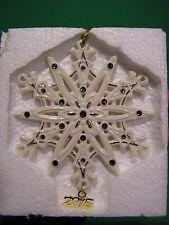 Lenox 2015 Annual Jeweled Snowflake Ornament New in Box gemmed