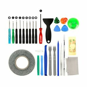 27 in 1 Cell Phone iPhone Repair Screwdriver Kit Tool with Screen Removal Adh...
