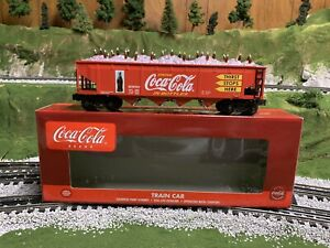 ✅K-LINE BY LIONEL DIE CAST COCA COLA HOPPER CAR W/ COKE BOTTLES & ICE LOAD!