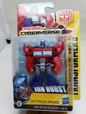 Transformers Cyberverse Ion Burst Optimus Prime Sciut Class Hasbro New