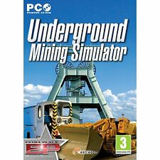 Underground Mining Simulator 2011 (PC CD) NEW & Sealed - Despatched from UK