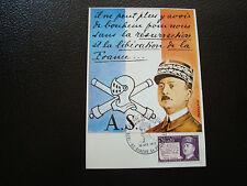 FRANCE - carte 1er jour 16/10/1971 (general delestrain) (cy62) french