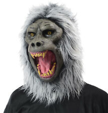 HALLOWEEN ADULT BABOON GORILLA MONKEY APE MASK PROP