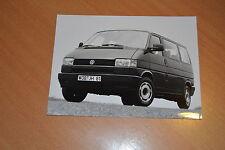 PHOTO DE PRESSE ( PRESS PHOTO ) Volkswagen Caravelle GL T4 de 1993 VW280