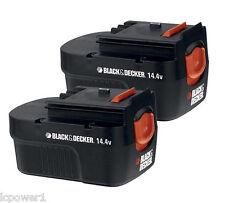 [B&D] [90559487] (2) Black & Decker HPB14 14.4V Replacement Battery