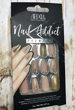 ARDELL Nail Addict Premium Artificial Nail Set NUDE JEWELED