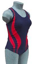 Chex Fitness MEXICO Mujer Bañador Natación Traje Racer con correas espalda Lycra
