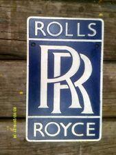 ROLLS ROYCE attractive cast  METAL SIGN