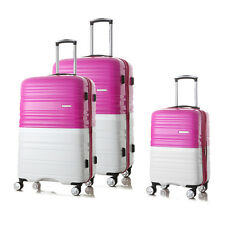 HONCARDO 3 Pieces Luggage Set  Spinner Trolley Suitcase TSA Travel Carry on Bag