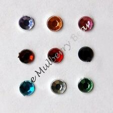 140 Rhinestones rhinestone round jewels Embellishments Bling Jewel Crafts Fairy
