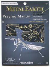 Fascinations Metal Earth 3D Laser Cut Steel Model Kit - Insect Praying Mantis