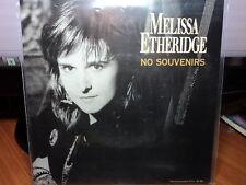 "Melissa Etheridge ""No Souvenirs"" Very Rare Oz PS 7"""