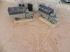 15mm Flames of War  DAK      Opel Blitz x 2