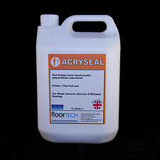 Floortech Products - Acryseal Clear Floor Seal / Varnish - 5 Litres