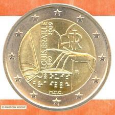 Sondermünzen Italien: 2 Euro Münze 2009 Louis Braille Sondermünze Gedenkmünze